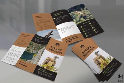 "Dépliant 3 volet ""Pikake National Park"""