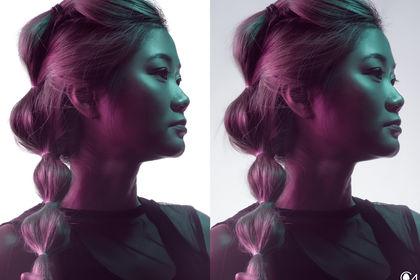 """Détourage (Projet """"Hair Fashion"""")"""