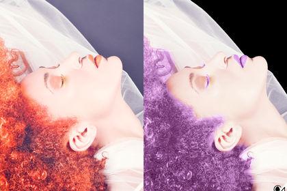 """Détourage/Recolorisation (Projet """"Hair Fashion"""")"""