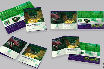 "Brochure A4 ""ECO FARM"""