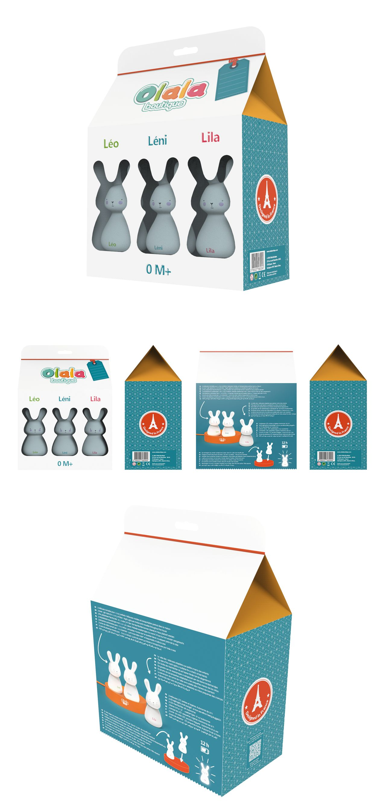 Olalaboutique - Packaging