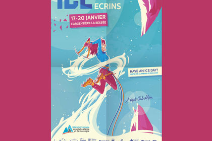 Affiche - Ice Climbing