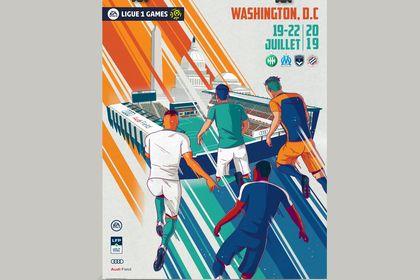Affiche - Ligue 1 Football