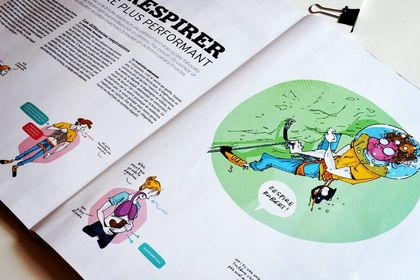 Grimper Magazine - Illustrations