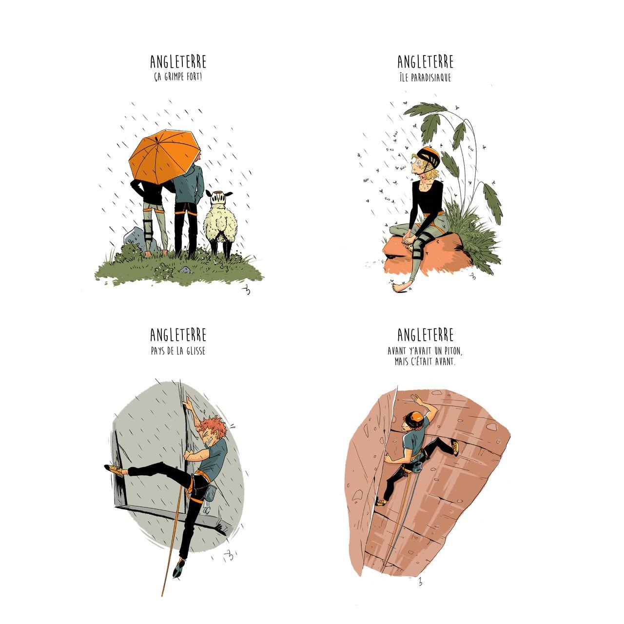 Carnet de voyage - illustrations