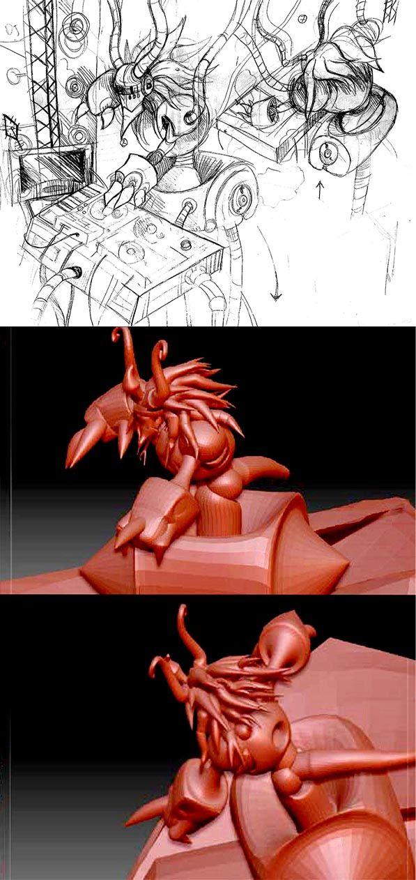 De la 2D à la 3D