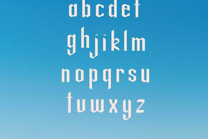 Typographie Manolo