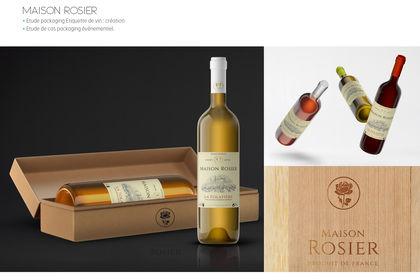 Projet packaging Vin