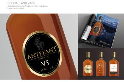 Projet etiquettes de Cognac