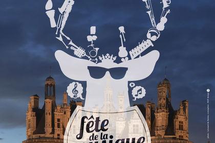 Affiche Chambord, fête de la musique.