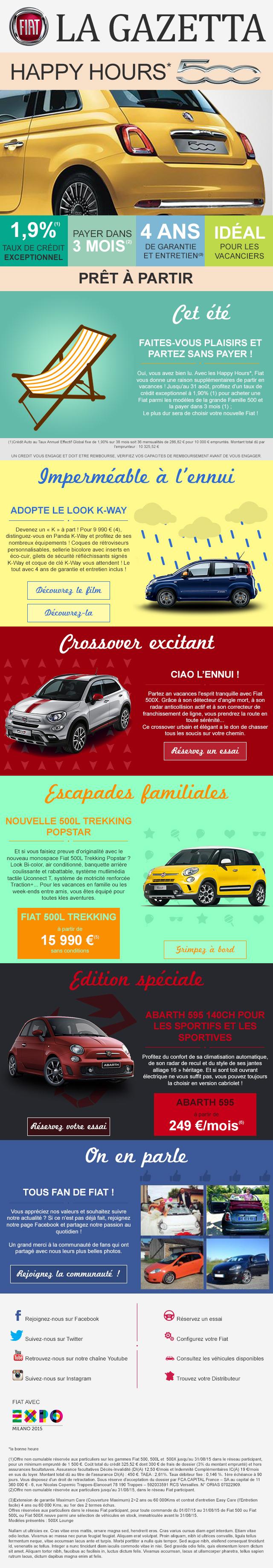 Fiat - Newsletter