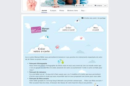 Vive les bébés - Application Facebook