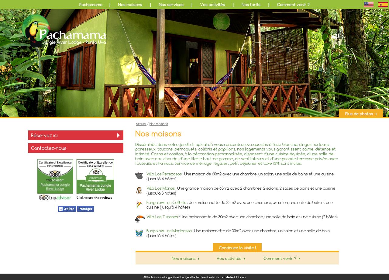 Pachamama Jungle River Lodge - Site