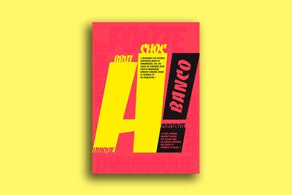Affiche Typographique Banco
