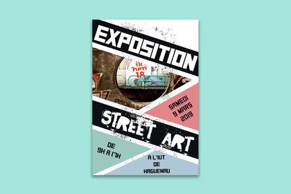 Affiche exposition Stree Art