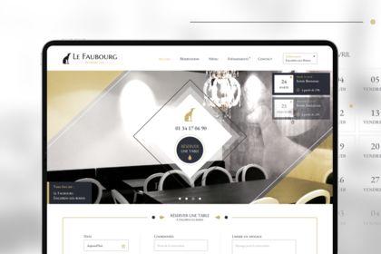 Webdesign - Le Faubourg
