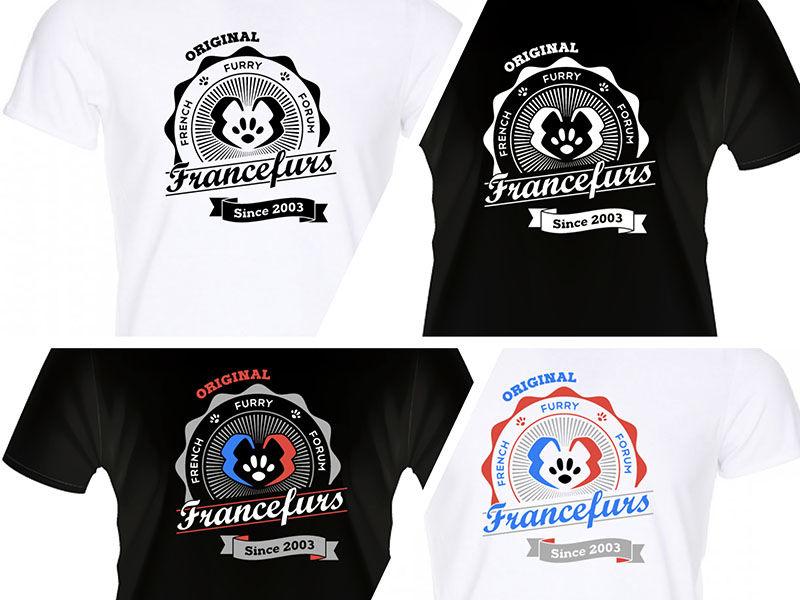 T-shirt pour un forum de passionnés