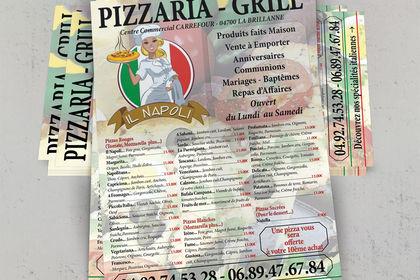 Restaurant IL NAPOLI. La Brillanne (04)