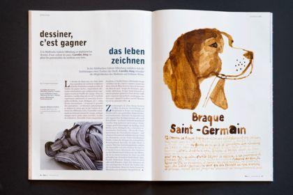 Poly magazine, conception et mise en page
