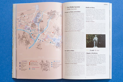 Coco city guide, conception et mise en page