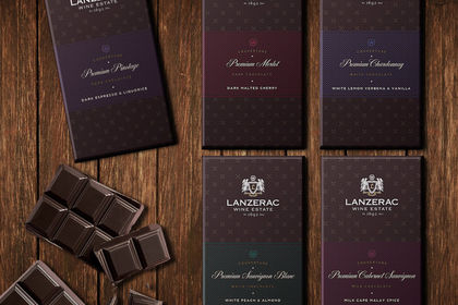 Lanzerac Estate Chocolat Packaging