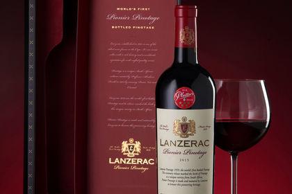 Lanzerac Wine Packaging