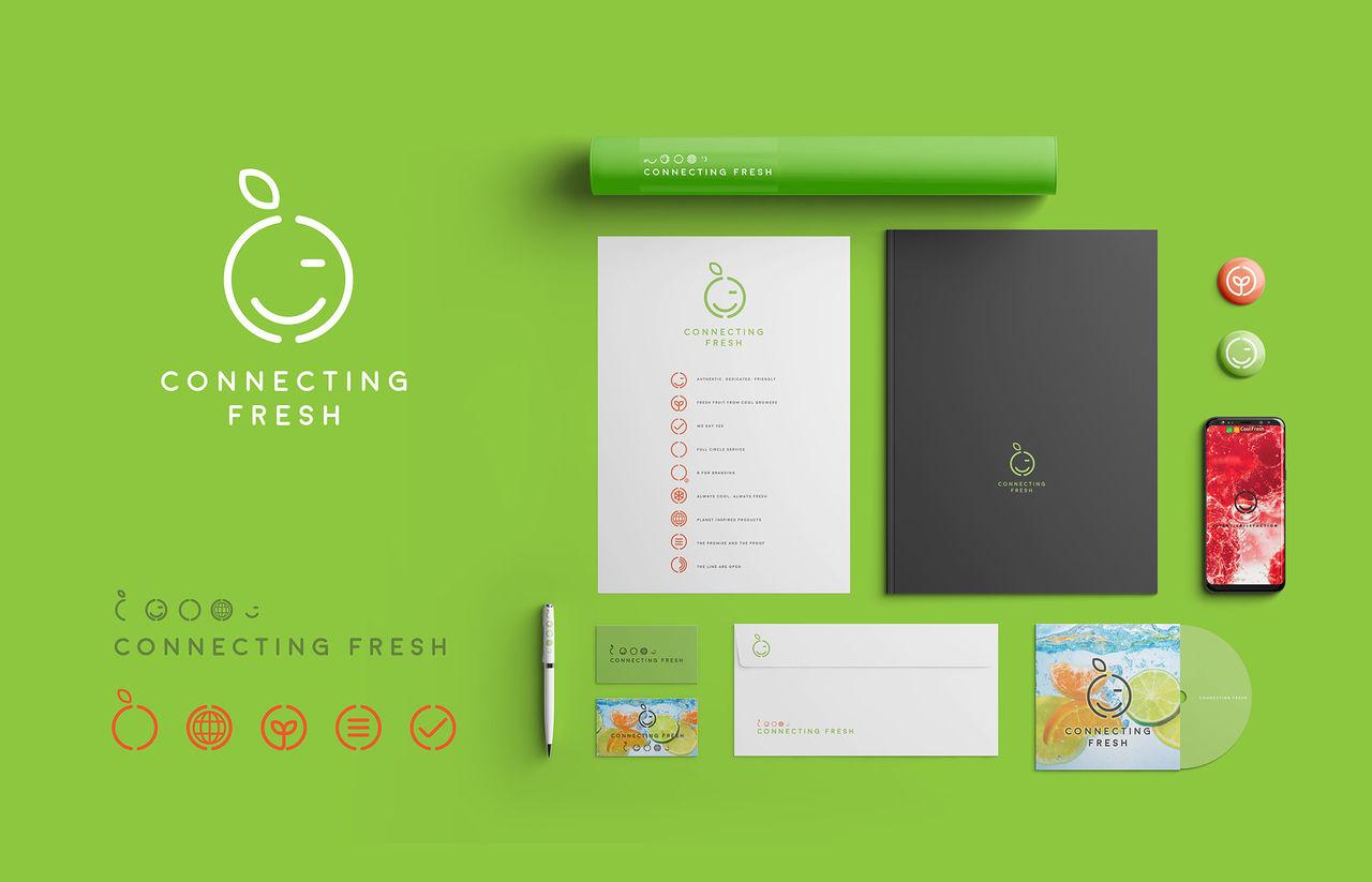CONNECTING FRESH: brand design