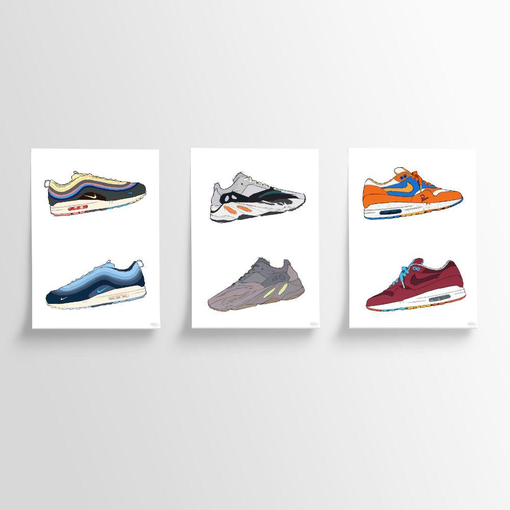 Prints Sneakers