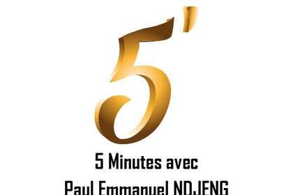 Affiche émission 5 Minutes Avec Paul Emmanuel