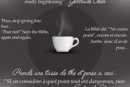 Tasse de thé / Cup of Tea