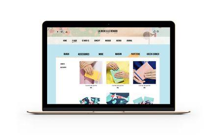 Web Design : La Biche et le Renard