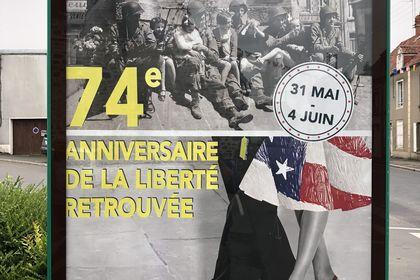 Affiche 74eme anniversaire de la libération