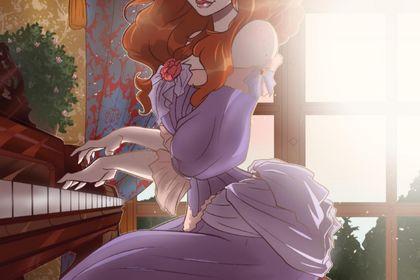 Pianiste Victorienne