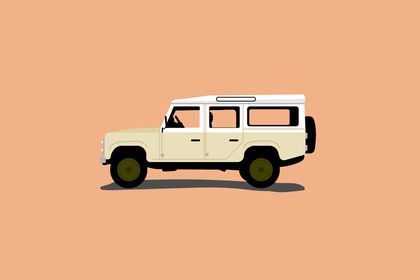 Illustration - Land Rover
