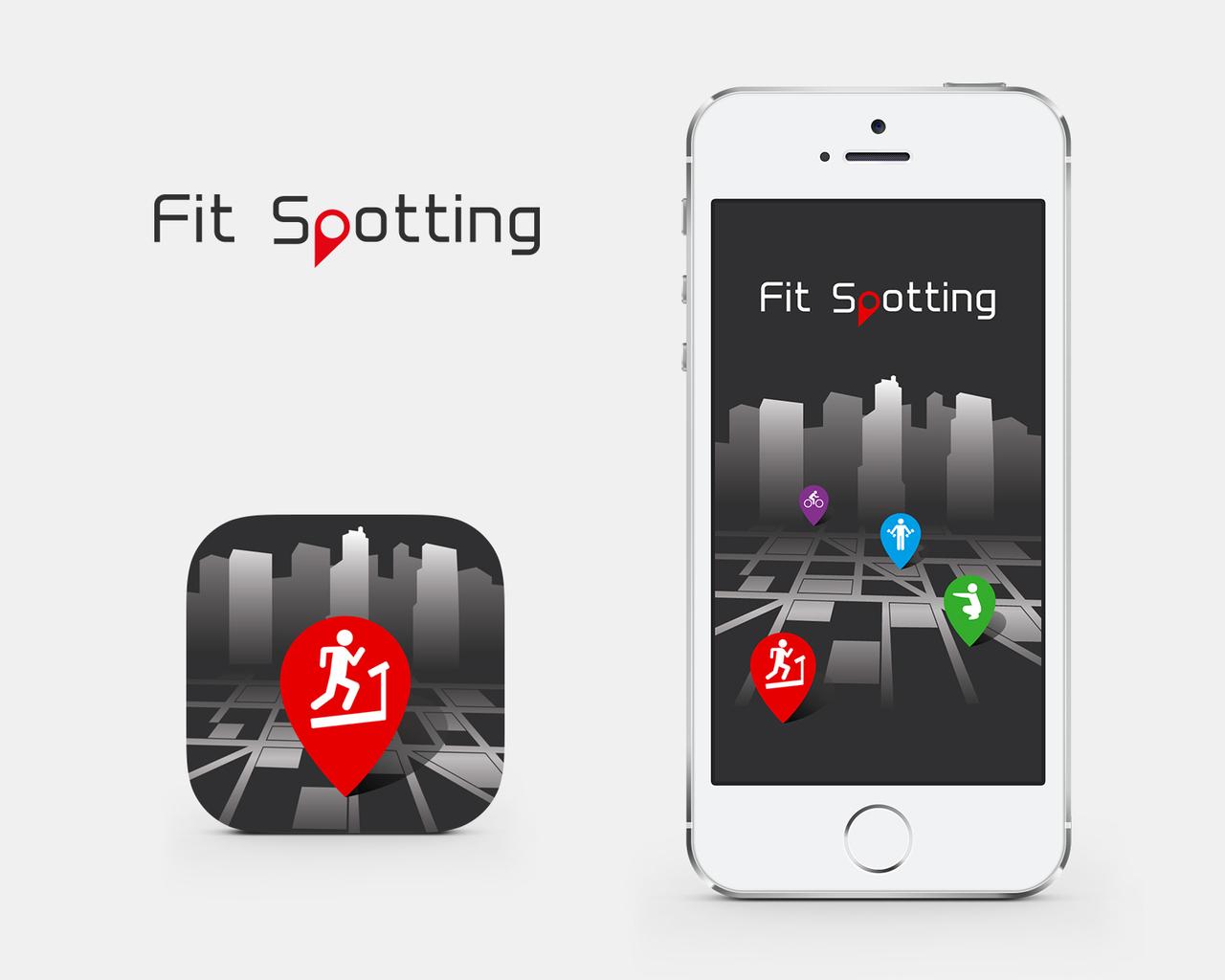 Icon et logo de l'application Fit Spotting