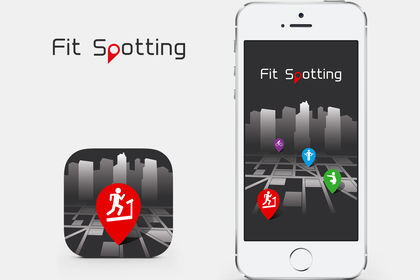 Icon et logo de l'application Fit Spotting