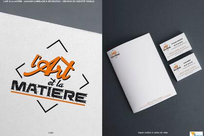 Création logo - L'Art et la Matière