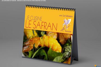 Livre de recettes Safraniers de Touraine