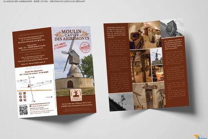 Dépliant Moulin des Aigremonts