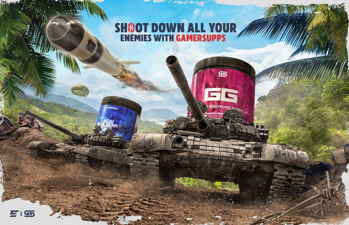 Affiche publicitaire - GamerSupps