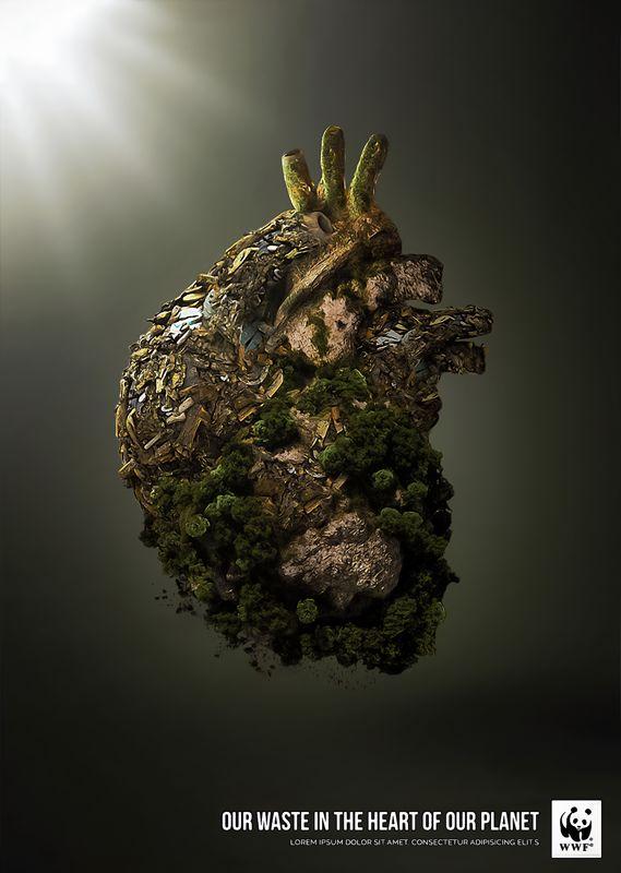 Affiche publicitaire - WWF