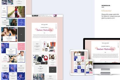 Glamour - Page Spéciale