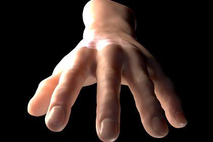 Main pour animation