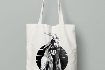 Illustration totebag