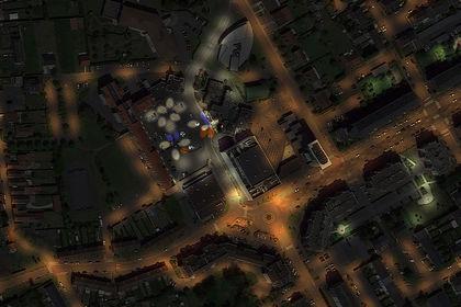 Infographie Nocturne Satellite