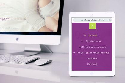 Site internet reflexes-allaitement