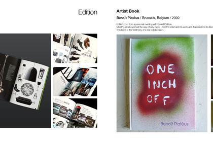 Magazine et livre/catalogue d'artiste
