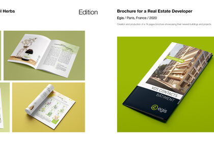 Catalogue + Brochure
