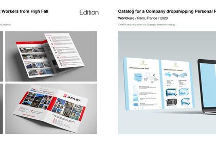 Brochure + Catalogue