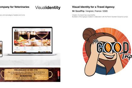 Web design, logo, bannière + Logo